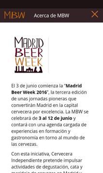 Madrid Beer Week apk screenshot