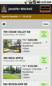 Klickitat County Real Estate apk screenshot