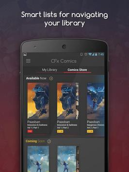 CFxComics apk screenshot
