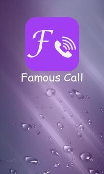 FamousCall poster