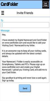 CardFolder apk screenshot