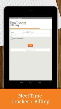 Time Tracker + Billing apk screenshot