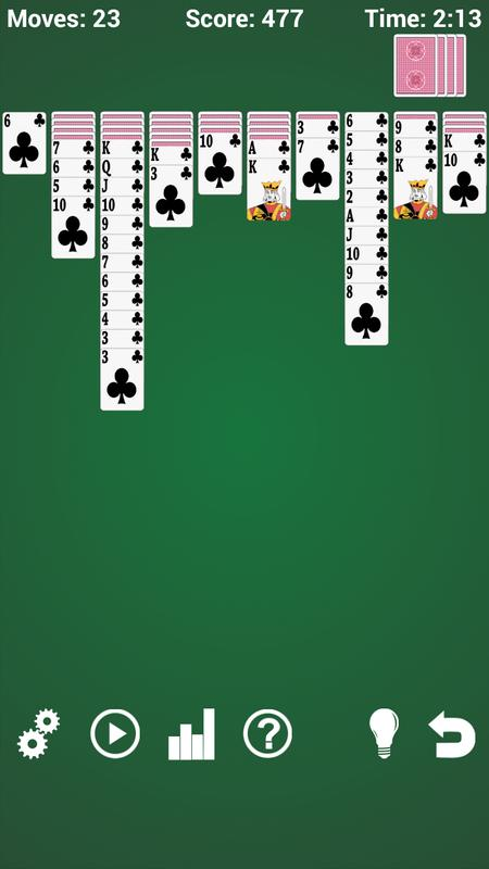 free app spider solitaire