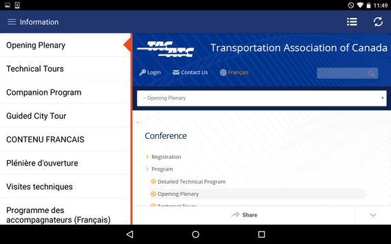 TAC 2016 CONFERENCE apk screenshot