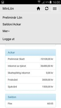 Heroma MinLön apk screenshot