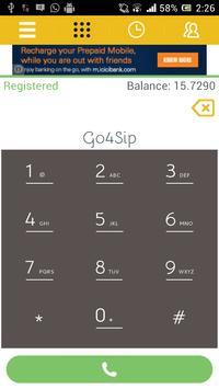 Go4Sip apk screenshot