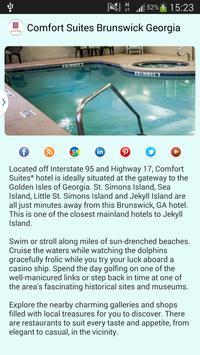 Comfort Suites Brunswick GA apk screenshot