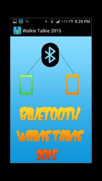 Bluetooth Walkie Talkie 2015 poster