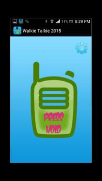 Bluetooth Walkie Talkie 2015 apk screenshot