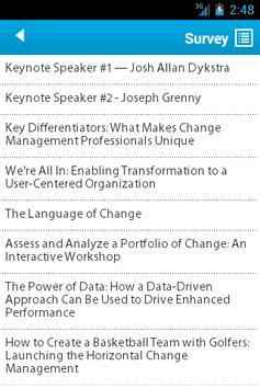Change Connect 2013 apk screenshot