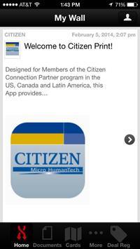Citizen Print apk screenshot