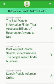 Address Finder Search apk screenshot