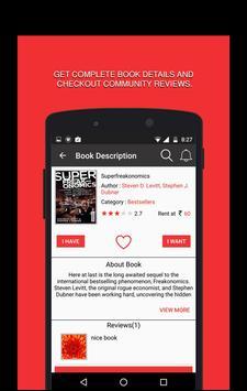 Chaptigue - Books Sharing. apk screenshot