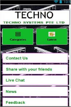 Techno Systems poster