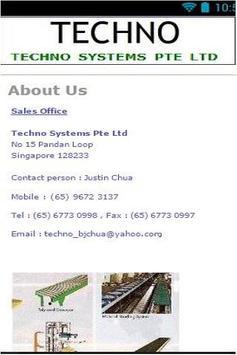 Techno Systems apk screenshot