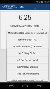 Chart Conversion Calculator apk screenshot