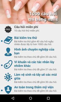 Luyện thi chứng chỉ nails FREE poster