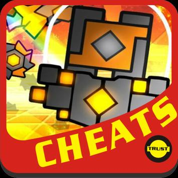 Cheats Geometry Dash Meltdown apk screenshot