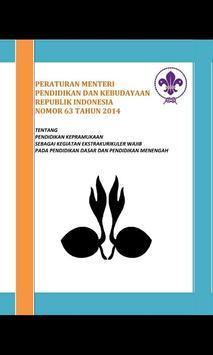 Permen 63 Tahun 2014 Pramuka poster