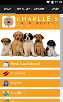 Charlie's Place Doggie Daycare poster