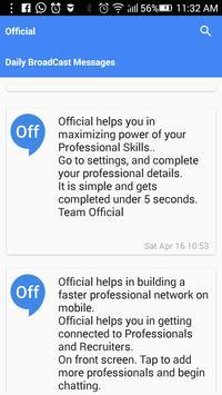 Official Chat Communicator apk screenshot