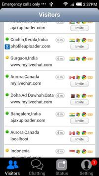 mylivechat - Android Chat apk screenshot