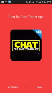 Chat for Card Trader App poster