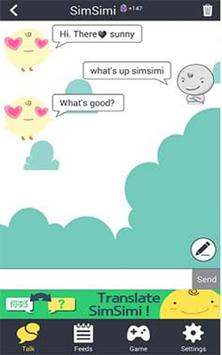Chat SimSimi:Guide poster