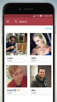 Belgium Chat, Belgique Dating apk screenshot
