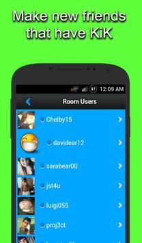 Chat Rooms for KIK poster