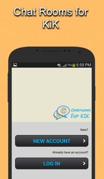 Chat Rooms for KIK apk screenshot