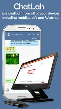 ChatLah Multilingual Messenger apk screenshot