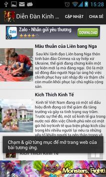Diễn Đàn Kinh Tế poster