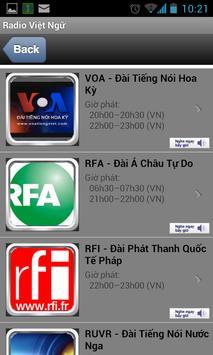 Radio Việt Ngữ apk screenshot