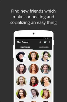 Chat Rooms Find Friends Advise apk screenshot
