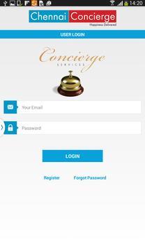CHENNAI CONCIERGE apk screenshot