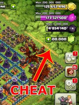 Cheat Clash for Gems Unlimited apk screenshot
