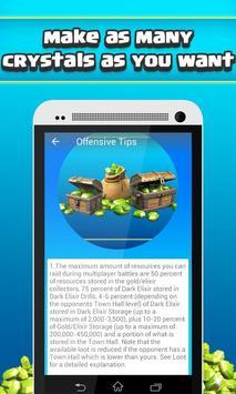 Cheats for Clash of Clans apk screenshot