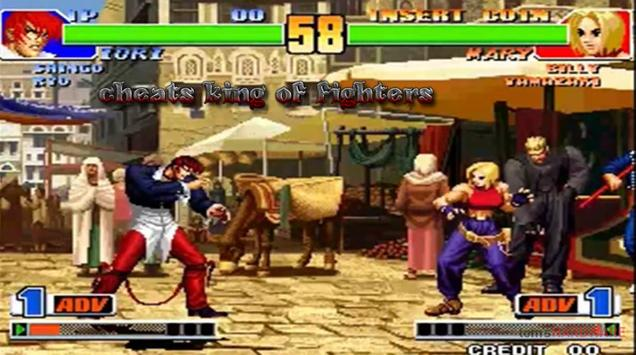 Cheats for King of Fighters 98 apk screenshot