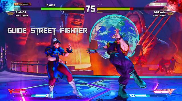 Guide for Street Fighter 2016 apk screenshot