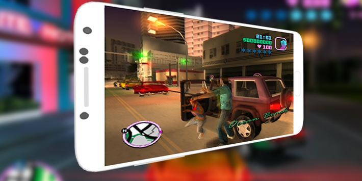 Cheat mods for GTA Vice City apk screenshot