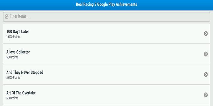 Real Racing 3 Cheats apk screenshot