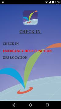 Check In GPS poster