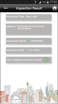 Checkpoint Inspection Results apk screenshot
