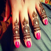 Fingers Mehndi Designs Styles icon