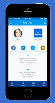 Namee Card apk screenshot