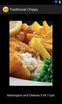 Traditional Chippy poster