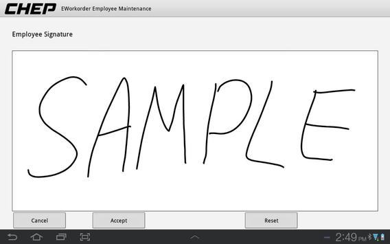 E-Signature apk screenshot
