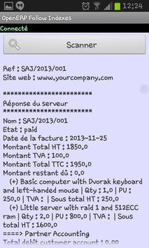OpenERP Follow Indexes apk screenshot