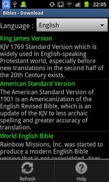 The Holy Bible - Offline apk screenshot